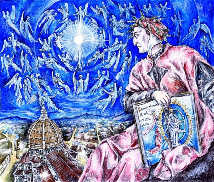 Apoteosi di Dante Alighieri a Firenze